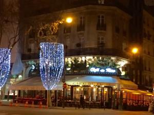 Noite no bairro Frances Saint Germain des Prés